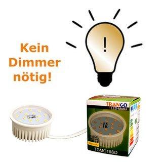 5 Watt Led Leuchtmittel In 3 Stufen Dimmbar Ultra Flach 3000 K 5 99